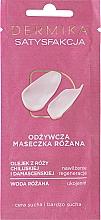"""Parfüm, Parfüméria, kozmetikum Tápláló arcmaszk száraz és nagyon száraz bőrre """"Puha Bőr"""" - Dermika Satisfaction Rose Nourishing Mask"""