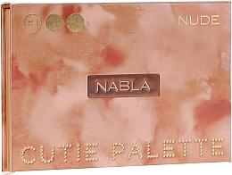 Parfüm, Parfüméria, kozmetikum Szemhéjfesték paletta - Nabla Cutie Collection Palette Nude