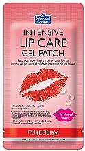 Parfüm, Parfüméria, kozmetikum Hidrogél ajaktapasz - Purederm Intensive Lip Care Gel Patch