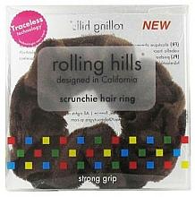 Parfüm, Parfüméria, kozmetikum Hajgumi, barna - Rolling Hills Scrunchie Hair Rings Brown