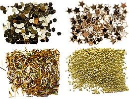 Parfüm, Parfüméria, kozmetikum Glitter készlet, arany - Peggy Sage Nail Glitter Mini Kit Or