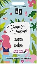 """Parfüm, Parfüméria, kozmetikum Olajos peeling + krém-maszk """"Monoi és hibiszkusz"""" - AA Voyage Voyage 2 In 1"""