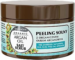 Parfüm, Parfüméria, kozmetikum Só peeling argánolajjal - GlySkinCare Argan Oil Salt Scrub