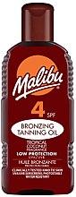 Parfüm, Parfüméria, kozmetikum Napvédő krém - Malibu Bronzing Tanning Oil SPF4