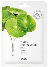 "Parfüm, Parfüméria, kozmetikum Arcmaszk ""Ázsiai centelle"" - Yadah Daily Green Mask Cica"