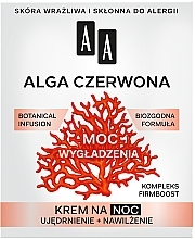 Parfüm, Parfüméria, kozmetikum Éjszakai arckrém - AA Moc Energy Cream 40+