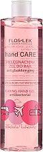 Parfüm, Parfüméria, kozmetikum Kézfertőtlenítő gél rózsával és bazsarózsával - Floslek Hand Care Caring Hand Gel