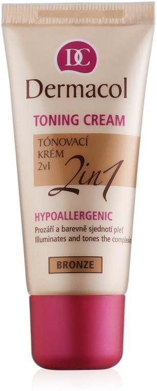 Hidratáló alapozó 2 az 1-ben - Dermacol Make-Up Toning Cream