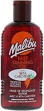 Parfüm, Parfüméria, kozmetikum Napozóolaj a gyors barnulásért - Malibu Fast Tanning Oil with Carotene