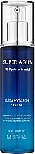 Parfüm, Parfüméria, kozmetikum Hidratáló arcszérum - Missha Super Aqua Ultra Hyalron Serum