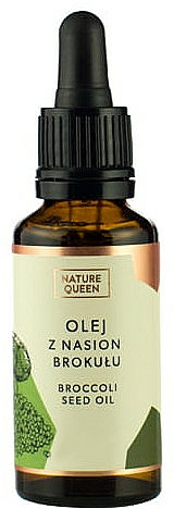 Kozmetikai olaj brokkoli szemekkel - Nature Queen Broccoli Seed Oil