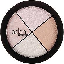 Parfüm, Parfüméria, kozmetikum Highlighter arcra - Aden Cosmetics Highlighter Palette