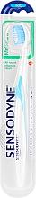 Parfüm, Parfüméria, kozmetikum Fogkefe, lágy, fehér és halványkék - Sensodyne Multicare Soft