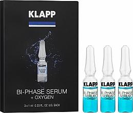 """Parfüm, Parfüméria, kozmetikum Kétfázisú """"Oxigén"""" szérum - Klapp Bi-Phase Serum Oxygen"""