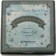 Parfüm, Parfüméria, kozmetikum Természetes szappan ajándékcsomag - Bulgarian Rose Aromatherapy Nature Soap