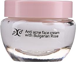 Parfüm, Parfüméria, kozmetikum Arckrém nyugtató rózsaolajjal - Hristina Cosmetics Rose Anti Acne Face Cream