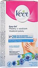 Parfüm, Parfüméria, kozmetikum Gyantacsíkok búzavirág illattal - Veet Easy-Gel