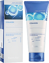 Parfüm, Parfüméria, kozmetikum Peeling-gél kollagénnel - FarmStay Collagen Water Full Moist Peeling Gel