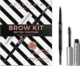 Parfüm, Parfüméria, kozmetikum Készlet - Anastasia Beverly Hills Better Together Brow Kit Taupe (pencil/0.085g + gel/2.5ml)