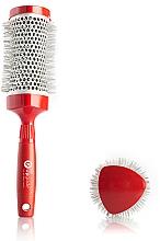 Parfüm, Parfüméria, kozmetikum Körkefe 43 mm - Upgrade Triangular Concave Thermal Brush Red Angle