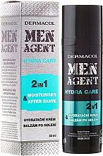 Parfüm, Parfüméria, kozmetikum Borotválkozás utáni balzsam - Dermacol Men Agent Moisturiser After Shave