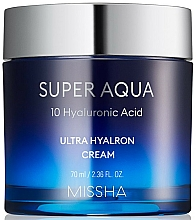 Parfüm, Parfüméria, kozmetikum Hidratáló arckrém - Missha Super Aqua Ultra Hyalron Cream