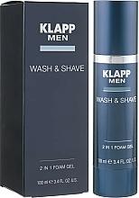 Parfüm, Parfüméria, kozmetikum Mosakodó- és borotvagél - Klapp Men Wash & Shave 2in1 Foam Gel
