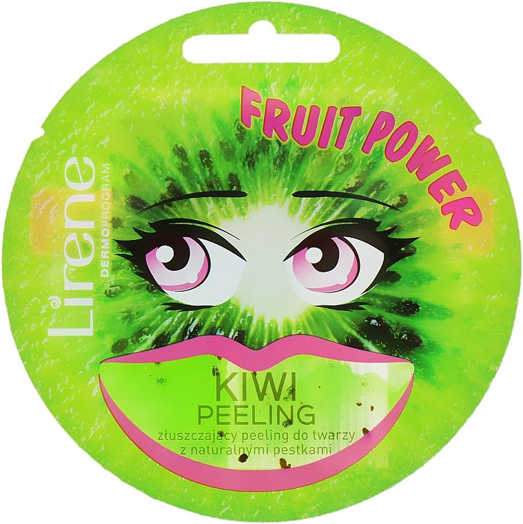 "Peeling-maszk arcra ""Kivi"" - Lirene Fruit Power"