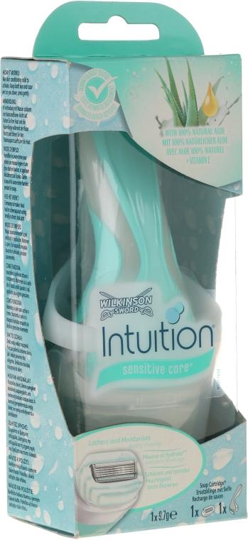 Borotva + 1 db. pótfej - Wilkinson Sword Intuition Sensitive Care