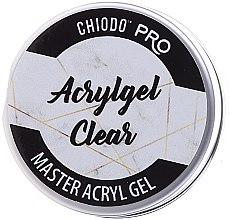Parfüm, Parfüméria, kozmetikum Műkörömépítő zselé - Chiodo Pro Acryl Gel Clear Gel