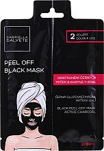 Parfüm, Parfüméria, kozmetikum Fekete lehúzható arcmaszk - Gabriella Salvete Black Peel-Off Mask