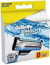 Parfüm, Parfüméria, kozmetikum Cserélhető borotvapenge, 8 db - Gillette Mach3 Start