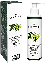 Parfüm, Parfüméria, kozmetikum Sminklemosó olaj - Orientana Nourishing Cleansing Oil For Face & Eyes Neem