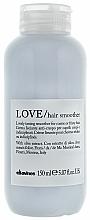 Parfüm, Parfüméria, kozmetikum Hajegyenesítő krém hullámos hajra - Davines Love Lovely Taming Smoother Cream