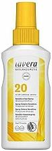 Parfüm, Parfüméria, kozmetikum Napvédő spray érzékeny bőrre - Lavera Sensitive Sun Spray SPF 20