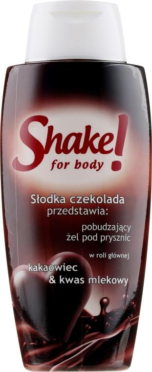 "Tusfürdő ""Csokoládé"" - Shake for Body Shower Gel Chocolate — fotó N1"