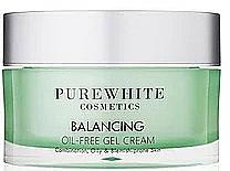 Parfüm, Parfüméria, kozmetikum Arckrém - Pure White Cosmetics Balancing Oil-Free Gel Cream