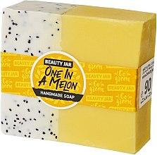 Parfüm, Parfüméria, kozmetikum Glicerin szappan dinnye illattal - Beauty Jar One In A Melon Handmade Soap