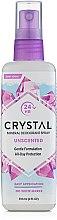 Parfüm, Parfüméria, kozmetikum Spray Dezodor - Crystal Body Deodorant Spray