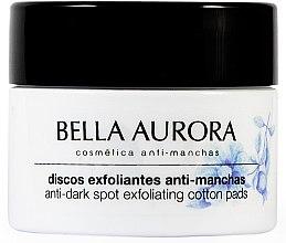 Parfüm, Parfüméria, kozmetikum Pigmentfolt elleni tisztító korong - Bella Aurora Anti-Dark-Spot Exfoliation Pads