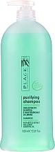 Parfüm, Parfüméria, kozmetikum Neutralizáló sampon zsíros hajra - Black Professional Line Sebum-Balancing Shampoo