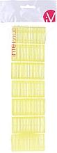 Parfüm, Parfüméria, kozmetikum Tépőzáras hajcsavaró, 499597, sárga - Inter-Vion