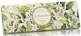 """Parfüm, Parfüméria, kozmetikum Természetes szappan szett """"Jázmin"""" - Saponificio Artigianale Jasmine Scented Soap (soap/3pcsx100g)"""