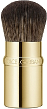 Parfüm, Parfüméria, kozmetikum Alapozó ecset - Dolce&Gabbana Retractable Kabuki Foundation Brush