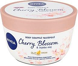 Parfüm, Parfüméria, kozmetikum Body Soufflé testápoló - Nivea Body Souffle Cherry Blossom & Jojoba Oil