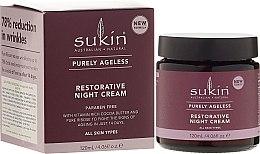 Parfüm, Parfüméria, kozmetikum Anti-Age éjszakai arckrém - Sukin Purely Ageless Restorative Night Cream