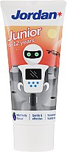 Parfüm, Parfüméria, kozmetikum Fogkrém 6-12 éves korig, robot - Jordan Junior Toothpaste