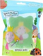 """Parfüm, Parfüméria, kozmetikum Fürdőszivacs """"Ben és Holly apró királysága"""", világos zöld - Suavipiel Ben & Holly's Bath Sponge"""