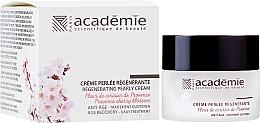 """Parfüm, Parfüméria, kozmetikum Regeneráló gyöngykrém """"Provence meggyvirága"""" - Academie Regenerating Pearly Cream"""
