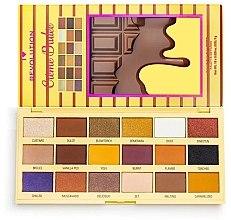 Parfüm, Parfüméria, kozmetikum Szemhéjfesték paletta - I Heart Revolution Eyeshadow Chocolate Palette Creme Brulee